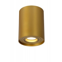 Lucide TUBE Reflektor Sufitowy Złoty Matowy/Mosiądz 1xGU10 Styl Nowoczesny 22952/01/02