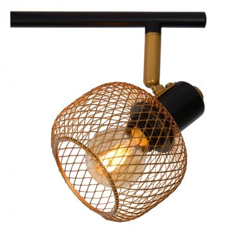 Lucide MAREN Reflektor Sufitowy Złoty Matowy/Mosiądz 4xE14 Styl Retro 77978/04/02