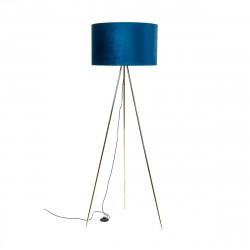 Zuma Line INGA 1xE27 niebieski/złoty podłogowa H06-GD-BL
