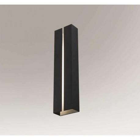 Shilo ASAHI LED 4,5W 1250lm czarny kinkiet 7924
