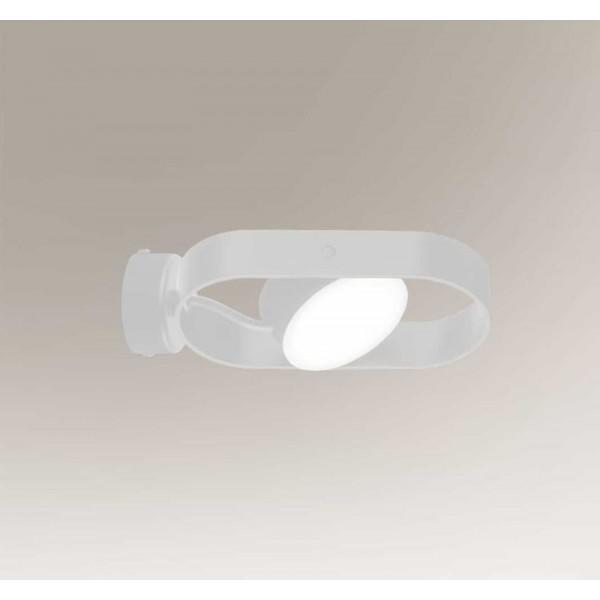 Shilo FUROKU LED 6W 600lm CRI90 biały kinkiet 7977