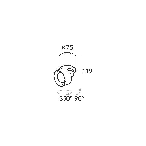 Labra GEIT MINI NT 2-0312 Reflektor