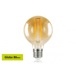 Integral E27 LED Sunset Vintage Globe 80mm 2.5W (40W) 1800K 170lm Non-Dimmable 82-13-56