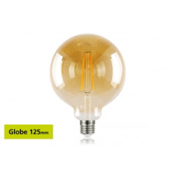 Integral E27 LED Sunset Vintage Globe 125mm 2.5W (40W) 1800K 170lm Non-Dimmable Lamp 46-80-11