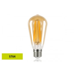 Integral E27 LED Sunset Vintage ST64 2.5W (40W) 1800K 170lm Non-Dimmable 28-08-65