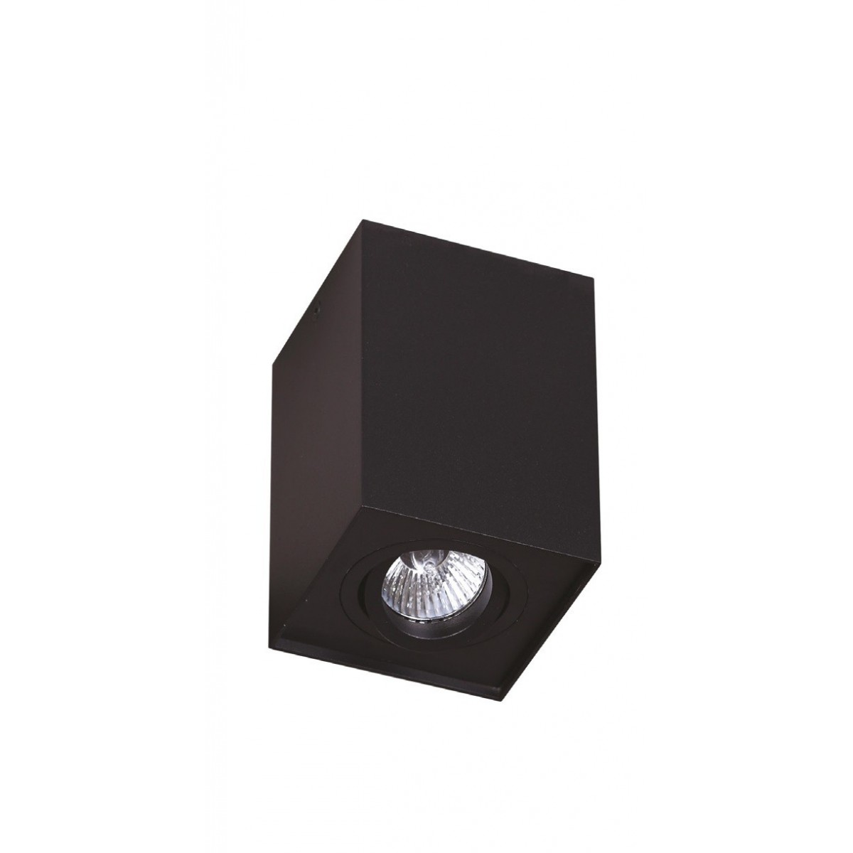 MAXlight BASIC SQUARE Czarny C0071 Sufitowa