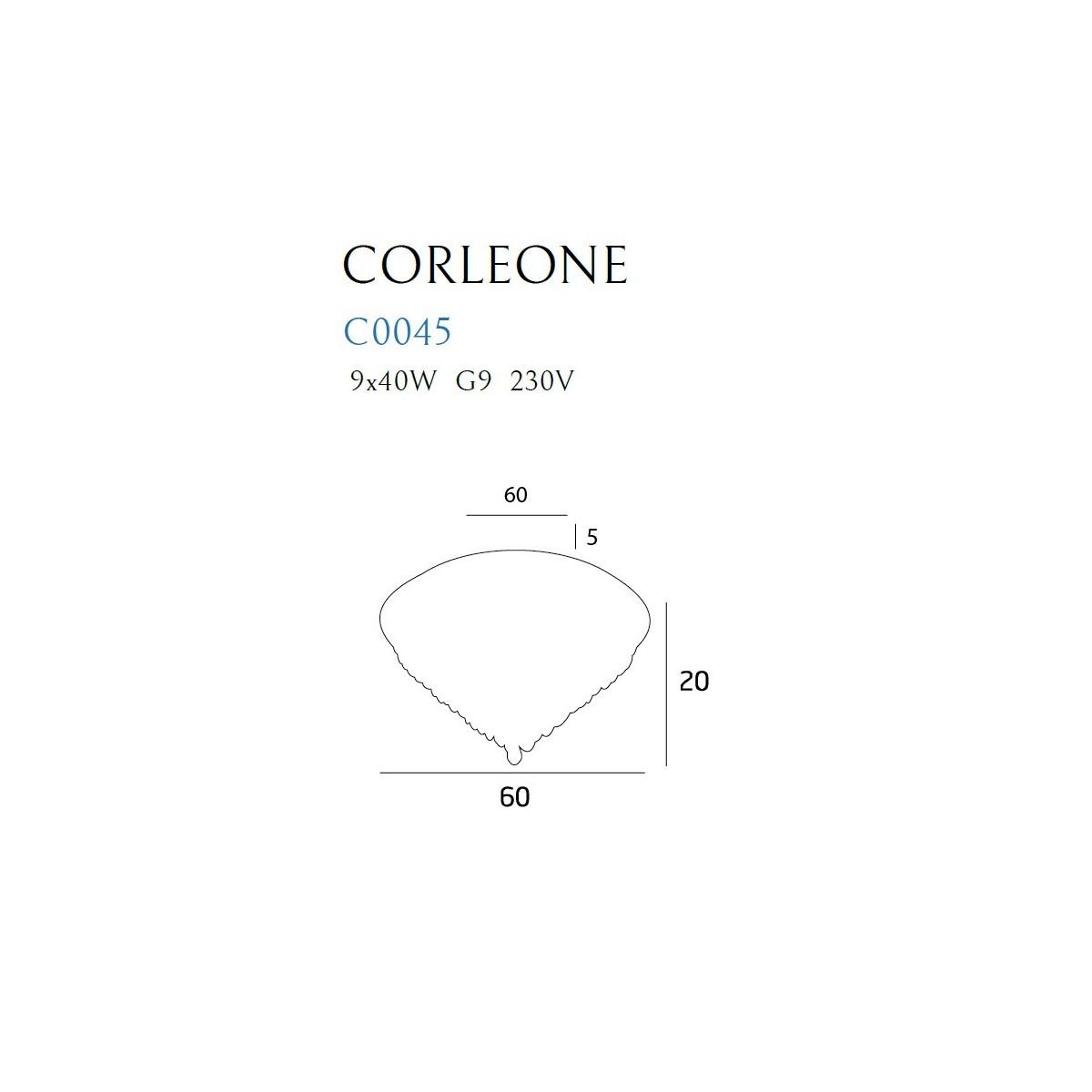 MAXlight CORLEONE C0045 Sufitowa