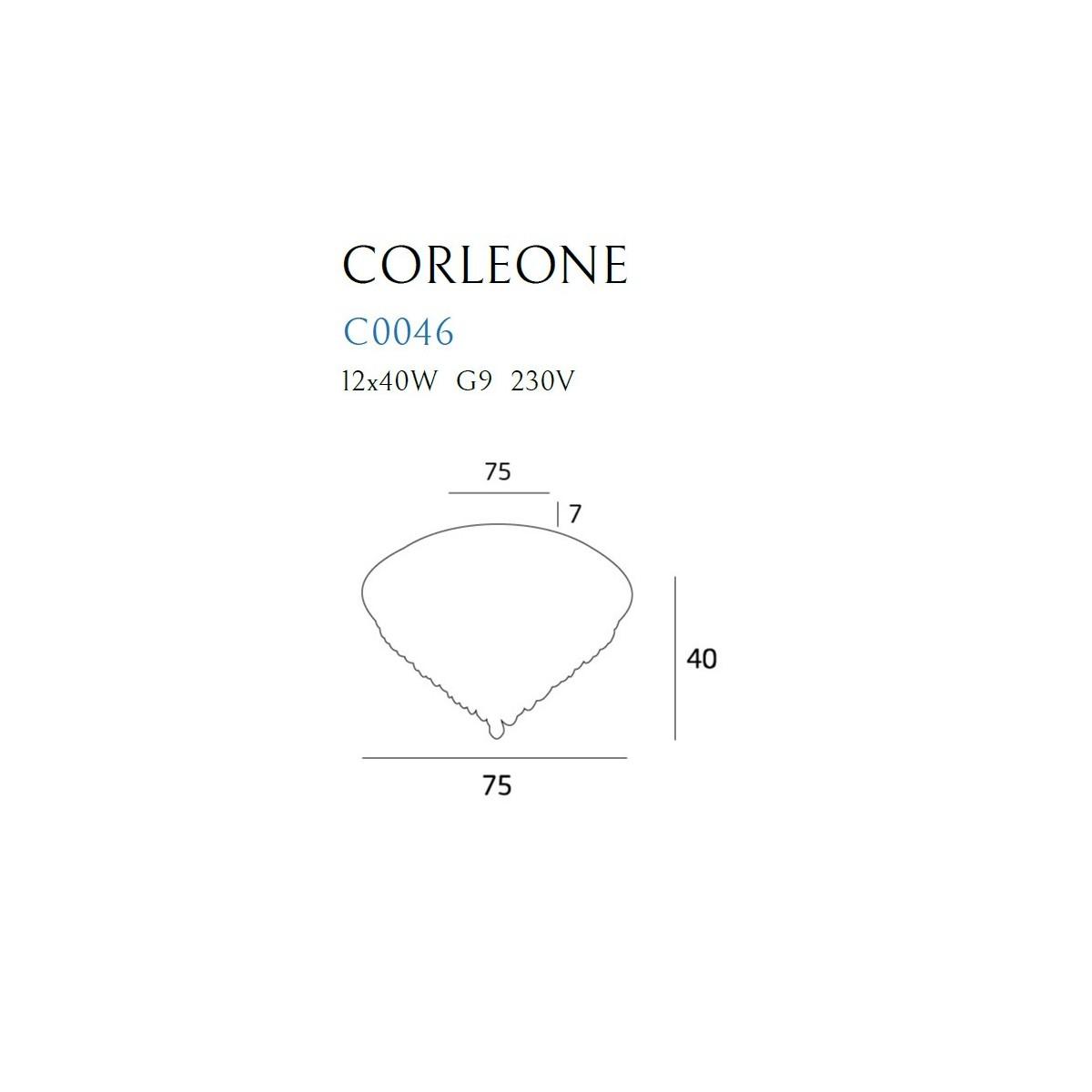 MAXlight CORLEONE C0046 Sufitowa