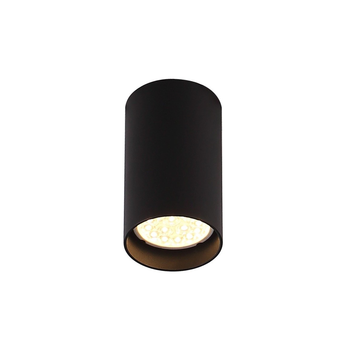 MAXlight PET ROUND Czarny C0142 Sufitowa