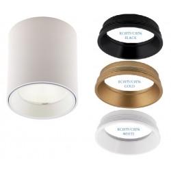 MAXlight Tub Okrągły LED 3000K Sufitowa Biały C0155