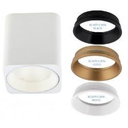 MAXlight Tub Kwadratowy LED 3000K Sufitowa Biały C0156