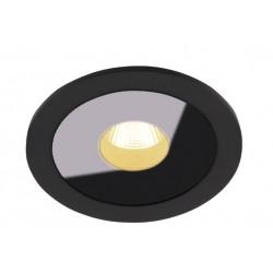MAXlight Plazma 1xLED 3000K Oprawa Podtynkowa Czarna IP54 H0088