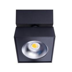 MAXlight ARTU Czarny Reflektor Stropowy C0191