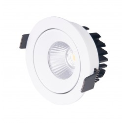 MAXlight CYKLOP BIAŁA Oprawa WPUSTOWA 12W LED IP65 H0094