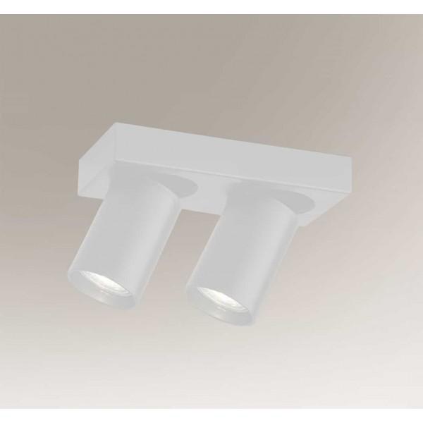 Shilo TARUMI 2xGU10 biały reflektor 7973