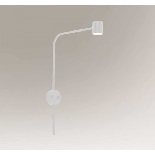 Shilo SAKATA LED 6W 600lm CRI90 biały kinkiet 7823