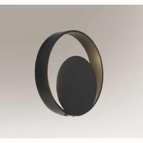 Shilo OMONO LED 6W 600lm CRI90 czarny kinkiet 7914