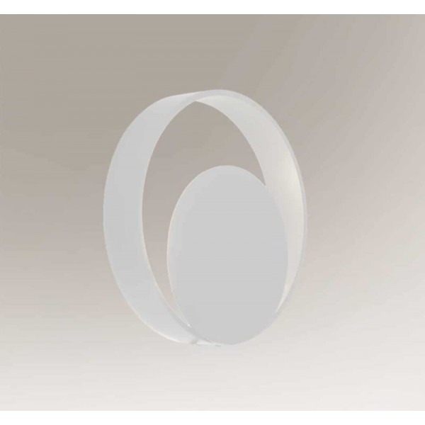 Shilo OMONO LED 6W 600lm CRI90 biały kinkiet 7915
