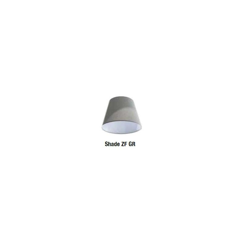 AZzardo ZYTA WALL S 1xE27 Czarny AZ1844 + Abażur 20cm kinkiet