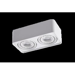 Azzardo PAOLA 2 230V WH 2xES111 Natynkowa Wychylna Biały AZ4132