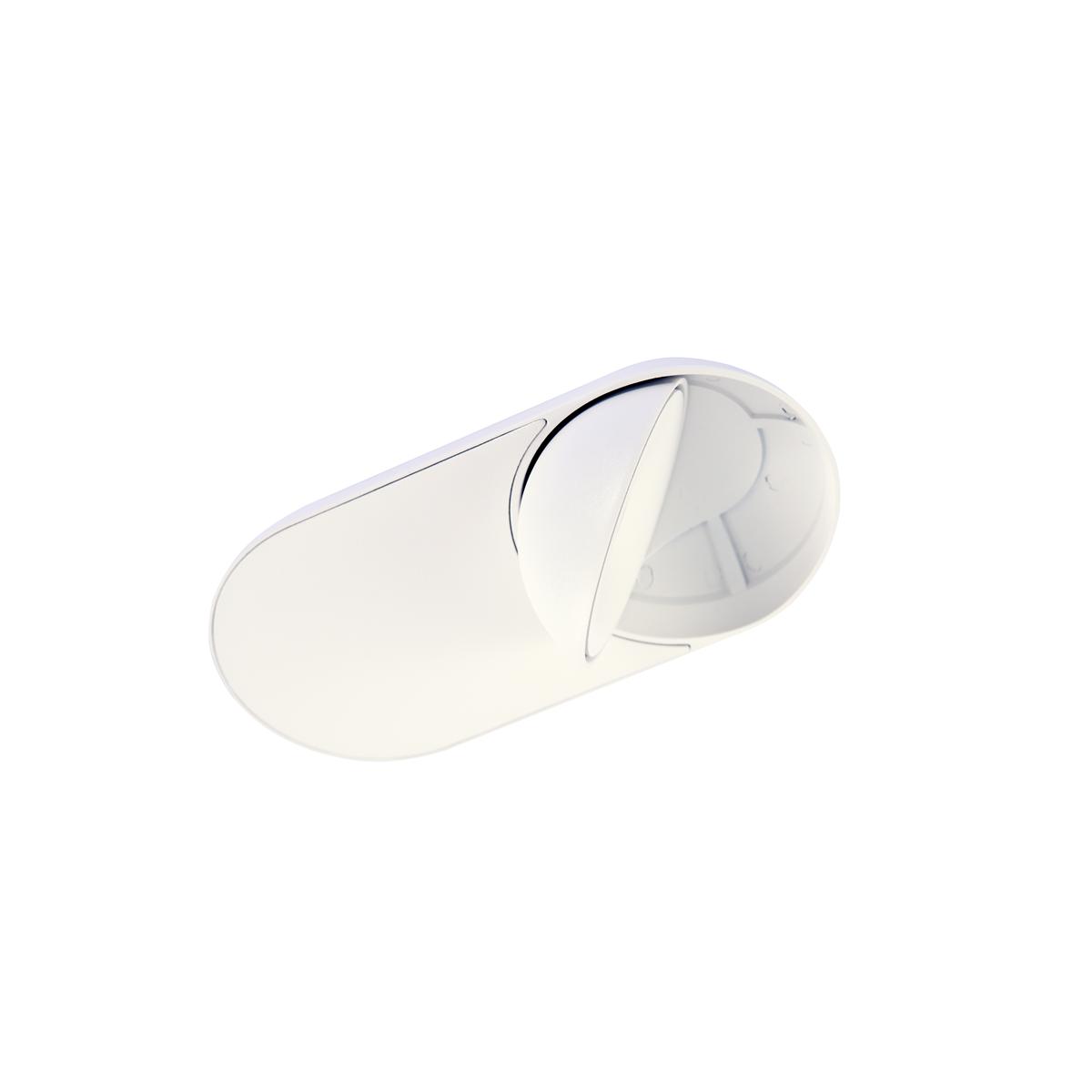 Azzardo TORONTO 1 WH LED 10W 680lm 3000K Wpust Wychylna Biały AZ4070