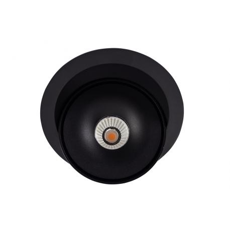 Azzardo TORONTO 1 SPOT BK LED 15W 810lm 3000K Wpust Wychylna Czarny AZ4063