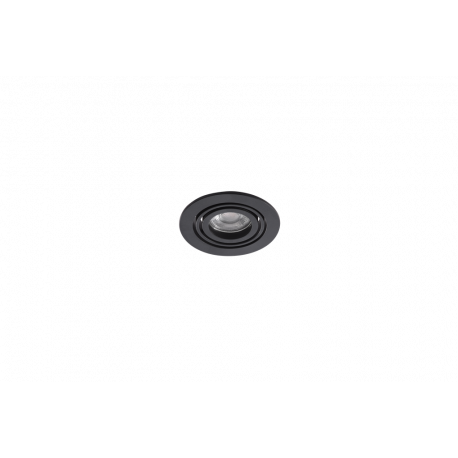 Azzardo CARLO 1 BK 1xGU10 Wpust Wychylna Czarny AZ4141