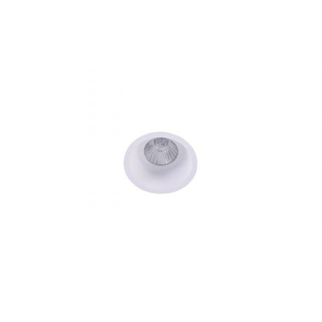 Azzardo ITAKA WH 1xGU10 Wpust Nieruchoma Biały AZ4073