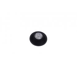 Azzardo ITAKA BK 1xGU10 Wpust Nieruchoma Czarny AZ4074