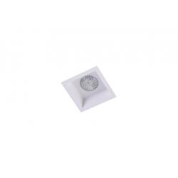 Azzardo MILET WH 1xGU10 Wpust Nieruchoma Biały AZ4075