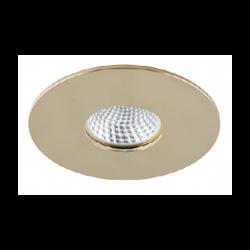 Azzardo CLETO GOLD 1xGU10 Wpuszczana Złoty AZ1622