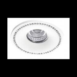 AZzardo SIMON R Biały/Aluminium NC1767R-W Wpust