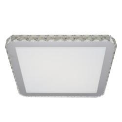 Azzardo GALLANT 38 SQUARE 1xLED Sufitowa Przeźroczysty/Biały AZ1594