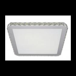 Azzardo GALLANT 50 SQUARE 1xLED Sufitowa Przeźroczysty/Biały AZ1595