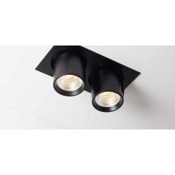 Labra AURO BASE 90x2 WP 2x13W ściemnianie fazowe 4-1175 Wpust