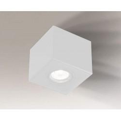 Shilo AWA H 1xGU10 biały natynkowa 7084