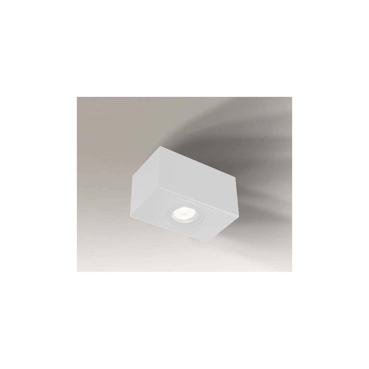 Shilo SETO H 1xGU10 biały natynkowa 7086