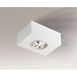 Shilo UTO H 1xES111 230V biały natynkowa 7100