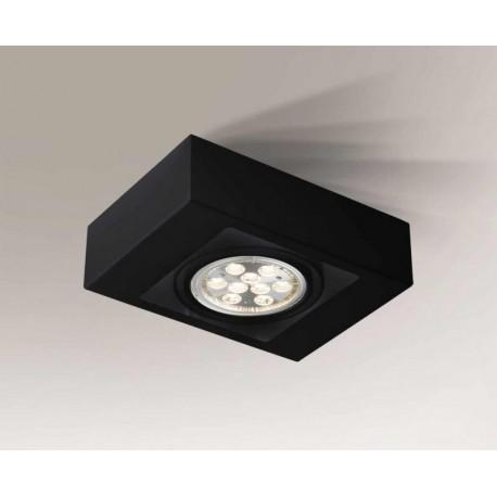 Shilo KOGA H 1xES111 230V czarny natynkowa 1225