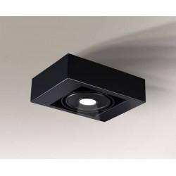 Shilo KOGA IL LED 10W 1200lm CRI90 czarny natynkowa 1228