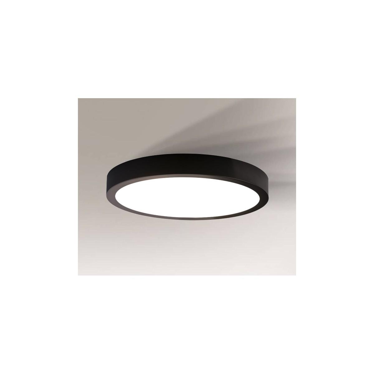 Shilo NOMI LED 16W 1452lm czarny natynkowa 1149