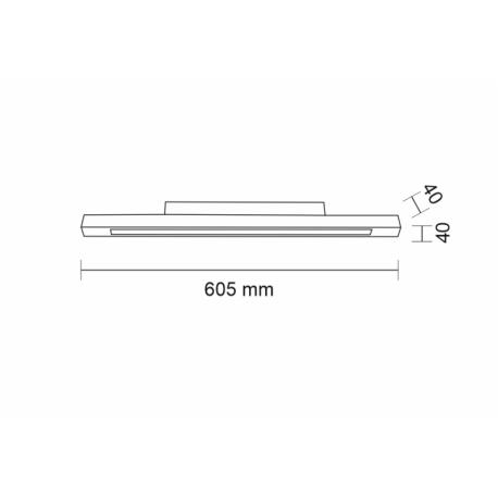 Shilo OTARU LED 16W 1920lm biały natynkowa 7185
