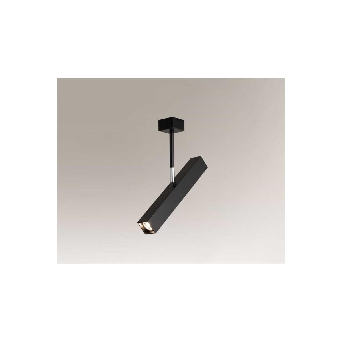 Shilo MITSUMA 1xGU10 MR11 czarny reflektor 7882