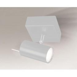 Shilo FUSSA 1xGU10 biały reflektor 7222
