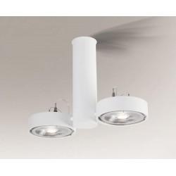 Shilo NATORI 2xES111 230V biały reflektor 7212