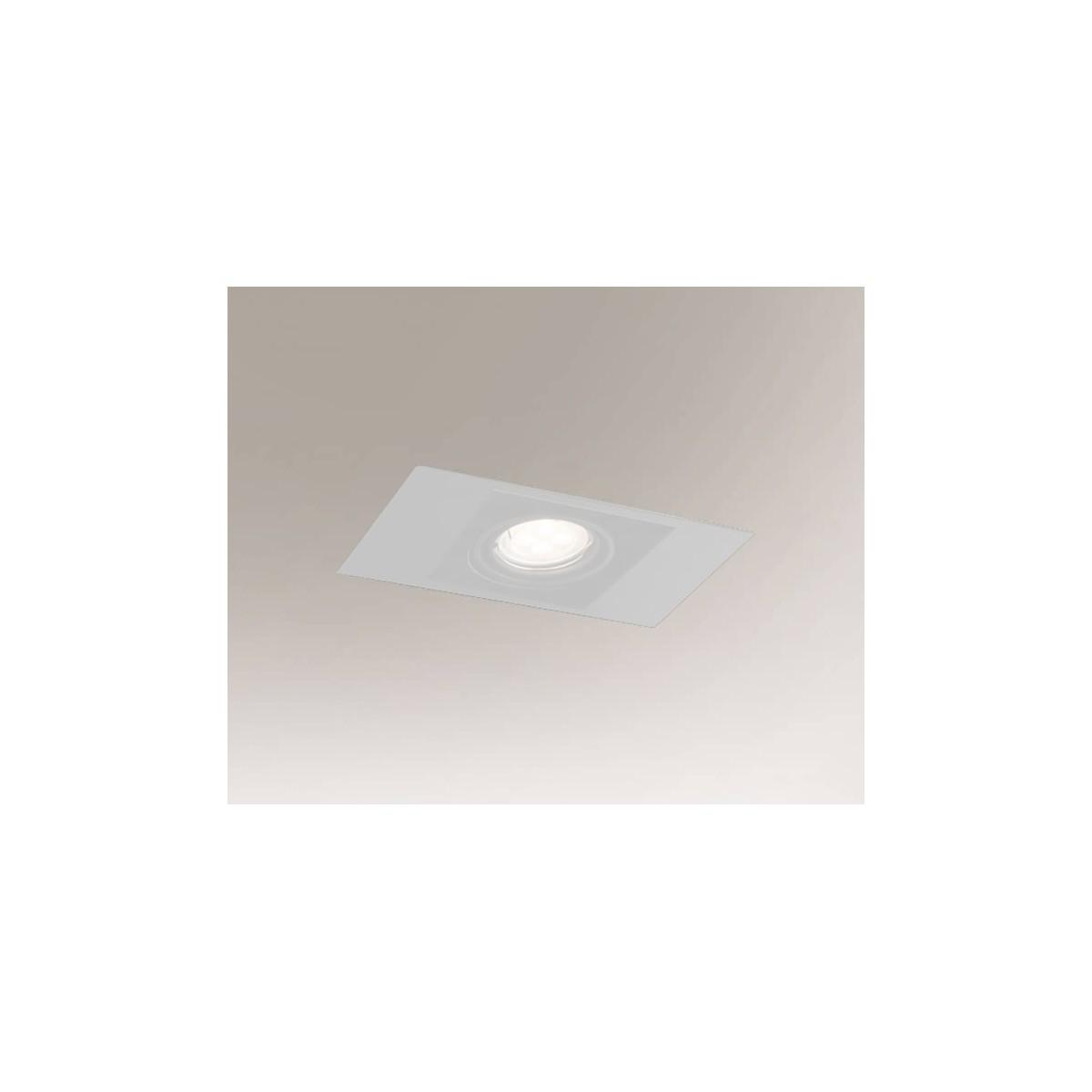 Shilo EBINO H 1xGU10 biały wpuszczana 7319