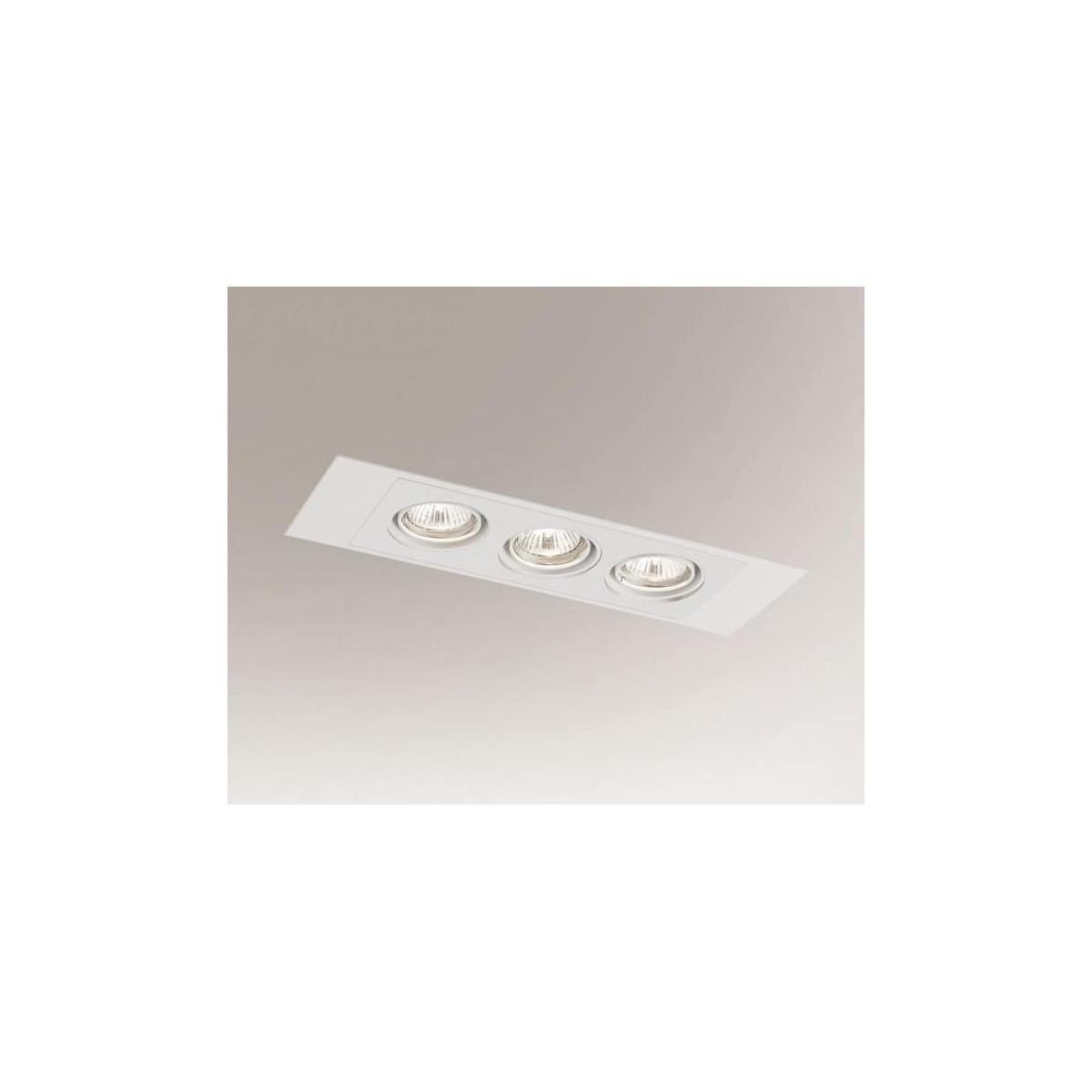 Shilo EBINO H 3xGU10 biały wpuszczana 7321