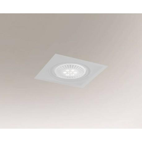 Shilo MUKO H 1xES111 230V biały wpuszczana 7343
