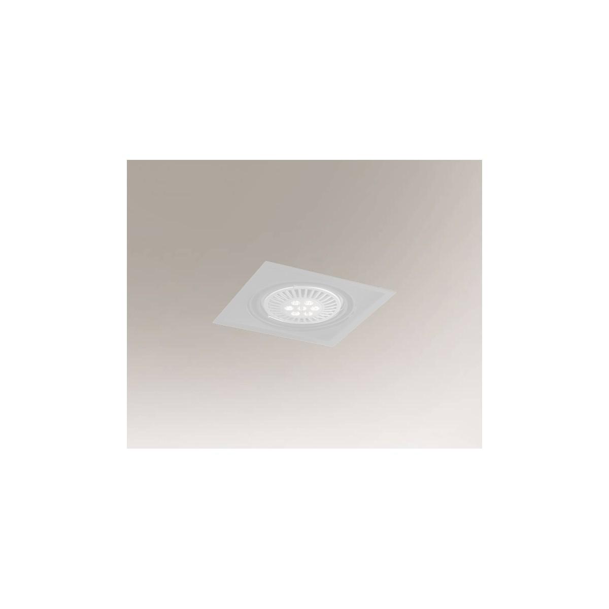Shilo MUKO H 1xAR111 12V biały wpuszczana 7345