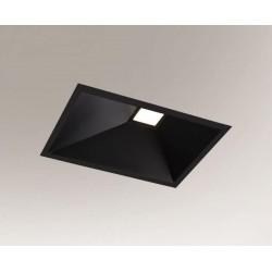 Shilo UBE IL LED 10W 1200lm CRI90 czarny wpuszczana 3369